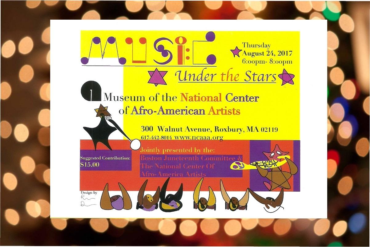 NCAAA Music Under The Stars Aug 24 17 postcard