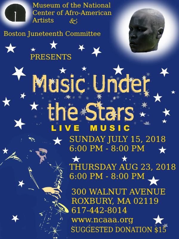 Music Under The Stars NCAAA 2018 Flyer
