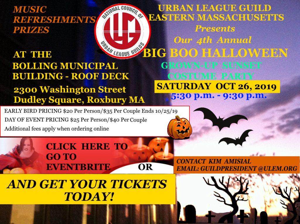 Urban League Guild Big Boo Promo Image